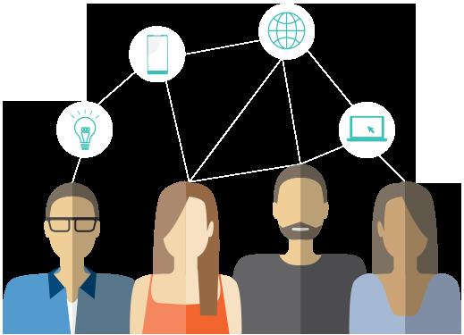 connecting people building data track analyse optimise ubidata