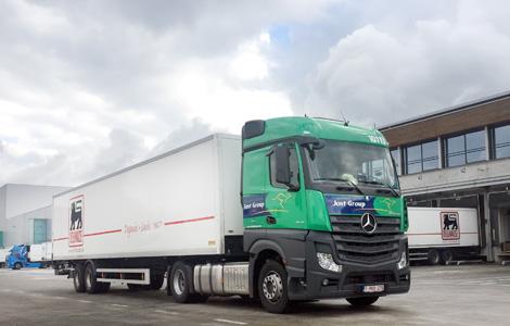 Delhaize Truck Logistics