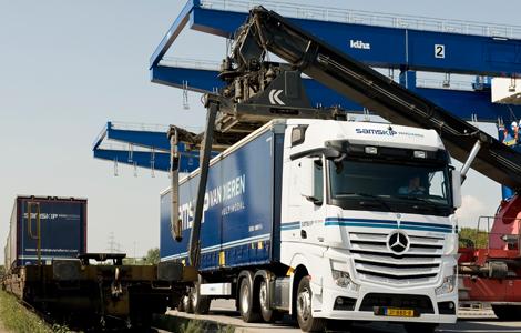 Samskip Intermodal logistics system