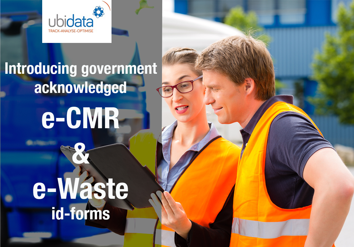 e-CMR a user-friendly, hassle-free alternative for the transport and logistic sector in the Covid pandemic.