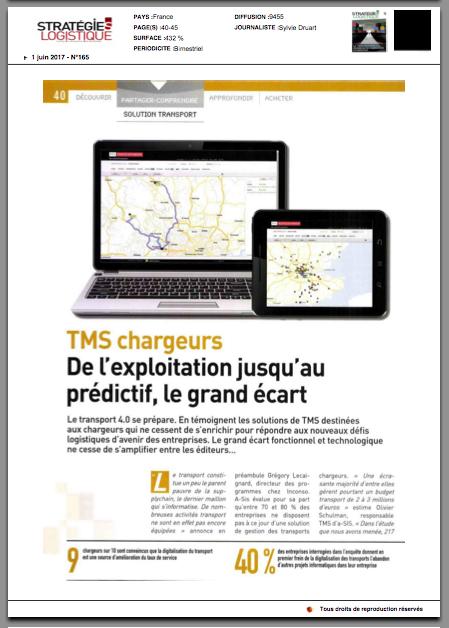 Stratégies Logistique Juin 2017